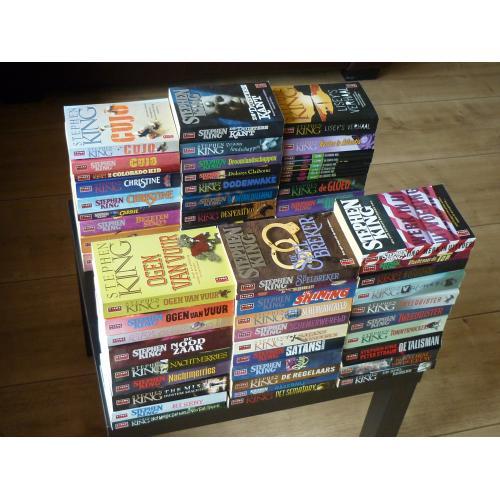 Stephen King: 50 verschillende Poema pockets 1,95 p.st.