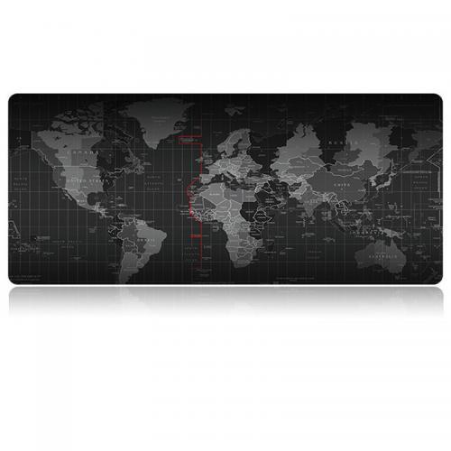 Grote muismat Oude Wereld Kaart afmeting 80 x 30 cm