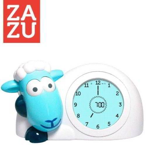 Zazu slaaptrainer Sam het schaap blauw