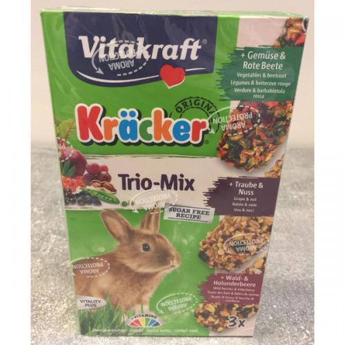 Vitakraft kracker konijn trio mix 3 st