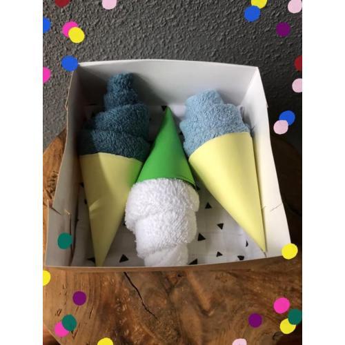 3 ijsjes in een doosje