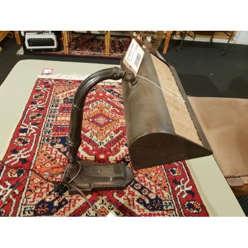 Origineel notaris lamp 20e jaren