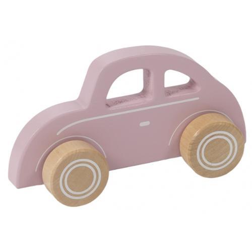 Auto roze van Little Dutch