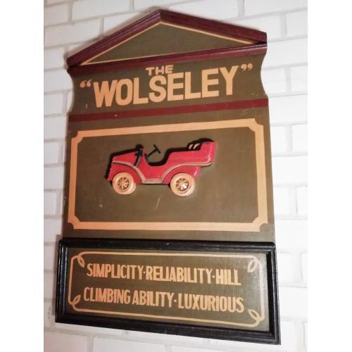 Engels Pubbord 'Wolseley' (3D)