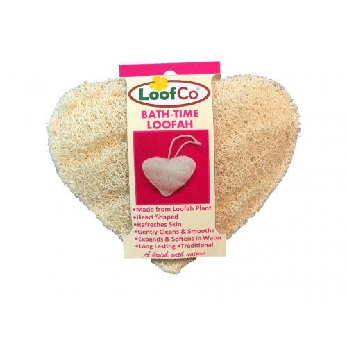 Loofco hart (Loofah spons)