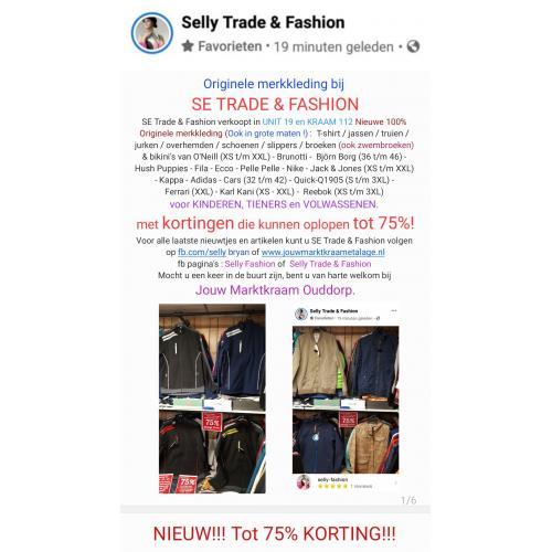 KORTING Tot: 75% !!! NIEUW  & 100% ORIGINEEL!!! Wij verkopen nieuwe Originele merkkleding T-shirt / jassen / truien / jurken / broeken / bikini's / schoenen / slippers voor kinderen, tieners en volwassenen.