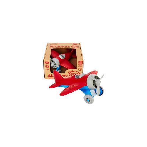 Green Toys Vliegtuig Rood/blauw