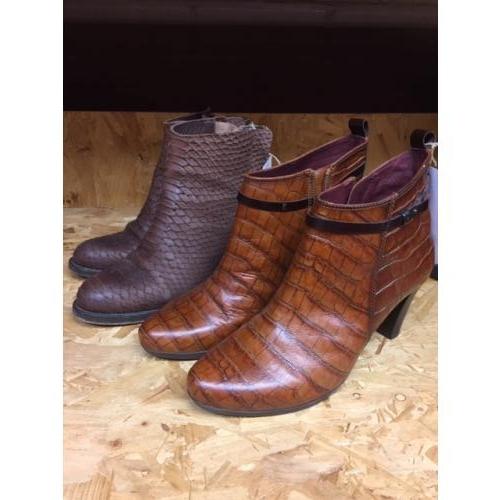 Prachtige schoenen (krokodil en alligator uterlijk) Maat 41