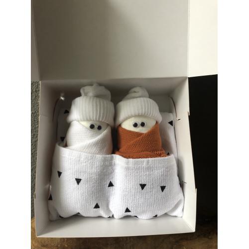 2 luierpopjes in een doosje diverse varianten