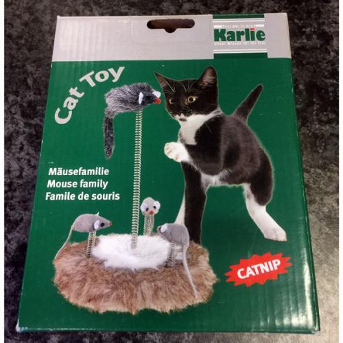 Karlie katten speeltje muizenfamilie
