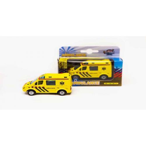 Ambulance met licht/geluid