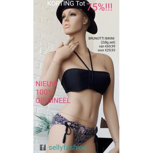 KORTING Tot 75% !!! NIEUW & 100% ORIGINEEL!!! Brunotti Bikini (2dlg.set) van 69,99 voor €29,93