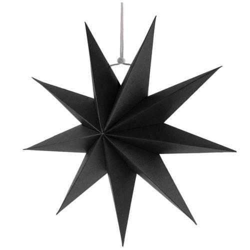 Kerst ster Zwart of Wit