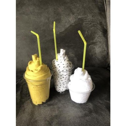 3 milkshakes