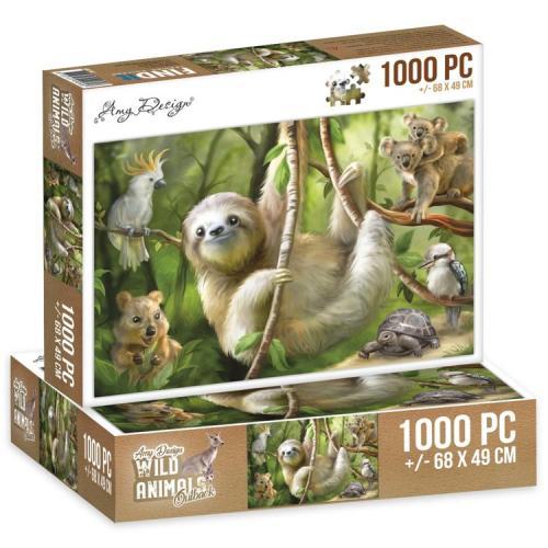 Jigsaw puzzel 1000 pc  - Sloth