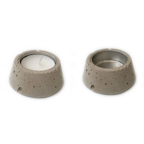 Waxine lichtje (beton)