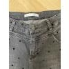 Spijkerbroek grijs met polka dot